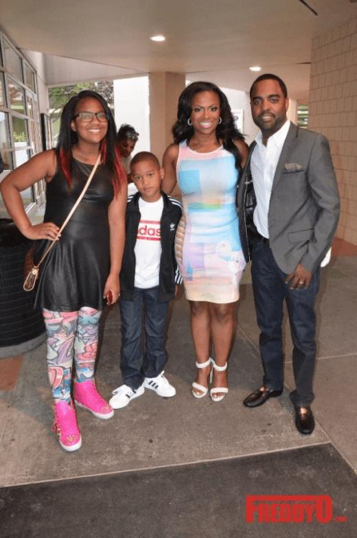 Kandi Burruss Celebrates 1st Anniversary of Augusta Ga's