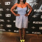 "Check out photos from the Premier of the movie screening ""LUCY"""