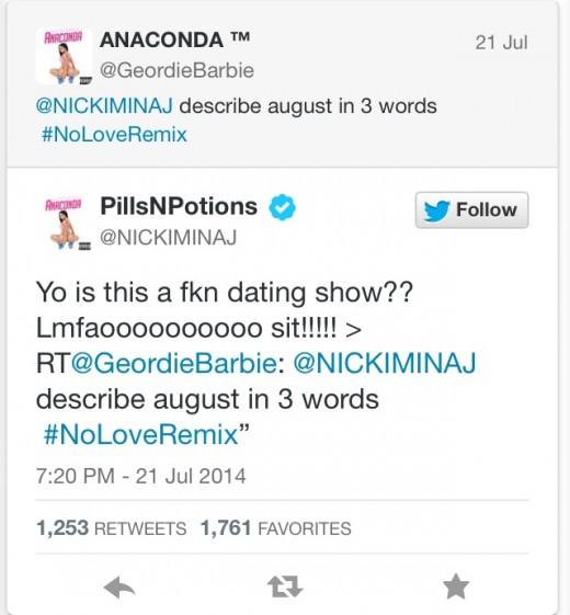 Er nicki minaj dating august alsina 2014