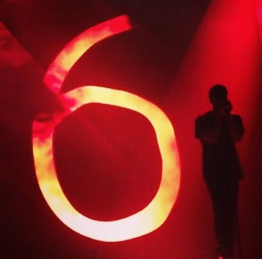 Drake During Toronto Concert