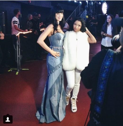 Katy Perry & Minaj