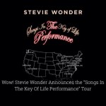 Stevie Wonder announces Songs in the Key of Life tour