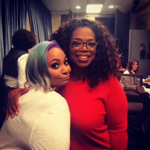 Raven Symone 2014 Hair Oprah