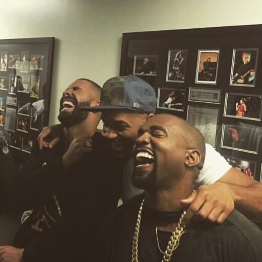 Drake Will Smith Kanye West