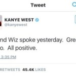 YEEZY MAKES PEACE WITH WIZ!