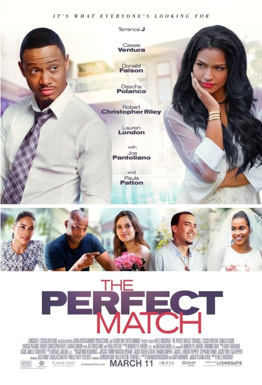 The Perfect Match Movie Artwork