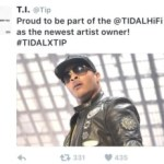 T.I: THE NEWEST CO-OWNER OF TIDAL