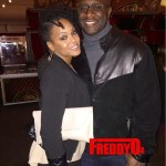 Demetria McKinney & Roger Bobb Spotted Enjoying a Date Night at the Premiere of Cirque Du Soliel in Atlanta!