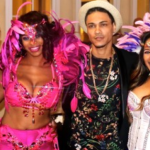 Dr Jameelah Gater, Jermaine Carter, Dustin Michael and more attend Brazilian Carnival