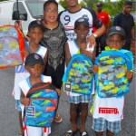 PHOTOS: T.I. Gives out Over 1,000 Book Bags to Atlanta Children!