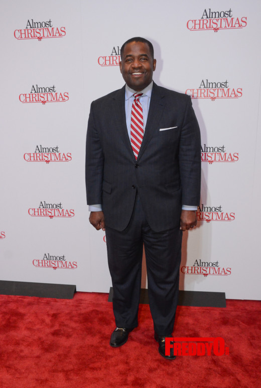 Almost Christmas Actor Omar.Photos Atlanta Red Carpet Screening For Almost Christmas