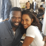 "[Photos] Chilli And 50 Cent Seen On Set Of ""Escape Plan 2"""
