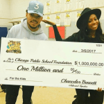 [Video] Chance The Rapper Donates $1 Million Dollars To Chicago Public Schools