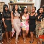 Monyetta Shaw Celebrates Her Birthday WIth Keshia Knight Pulliam, Toya Wright, Kandi Burruss & More at Gio's
