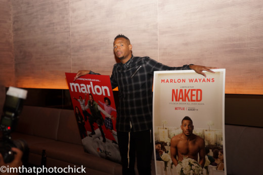 NBC's MARLON - Marlon Wayans Private Dinner ! - FreddyO com