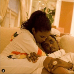Diddy blesses Essence Cover with family