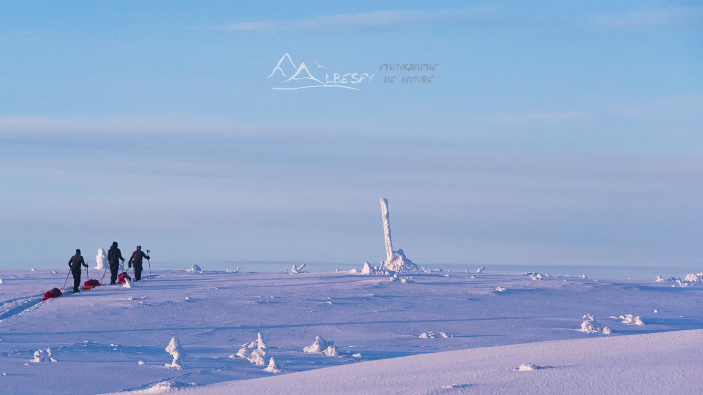 L'expédition en raquette (Suède) n°1010