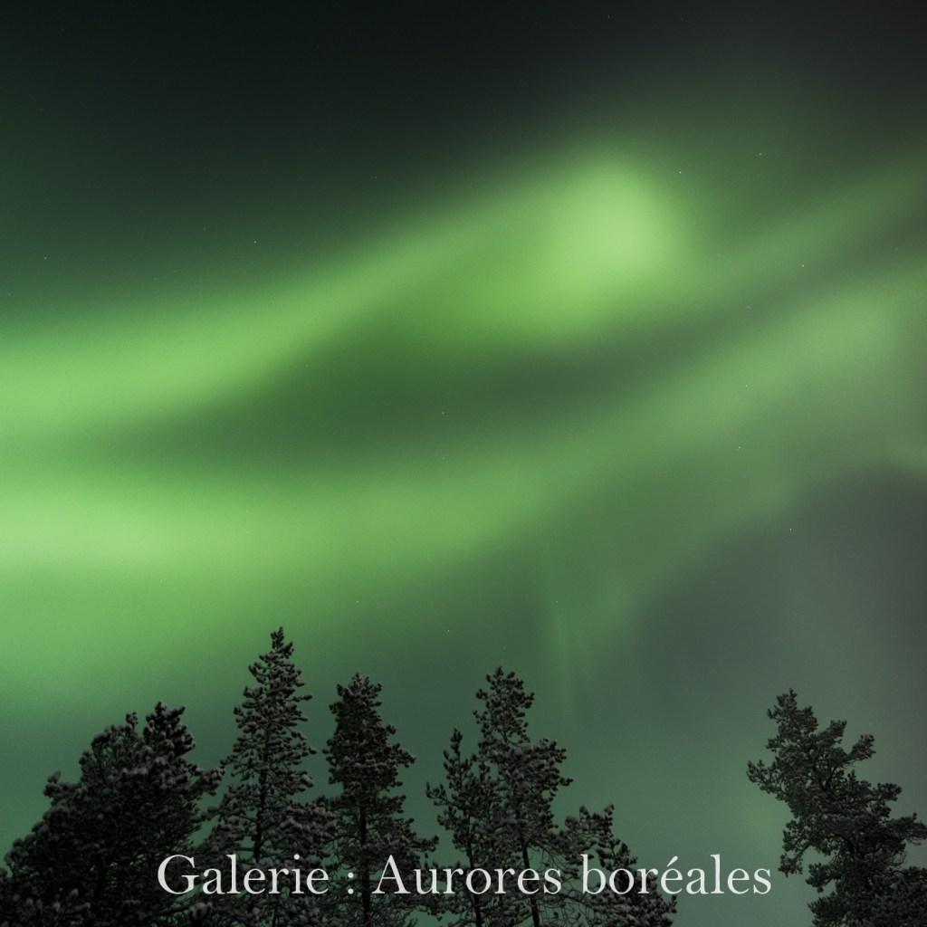 Cliquez ici pour accéder à la galerie : Aurores boréales
