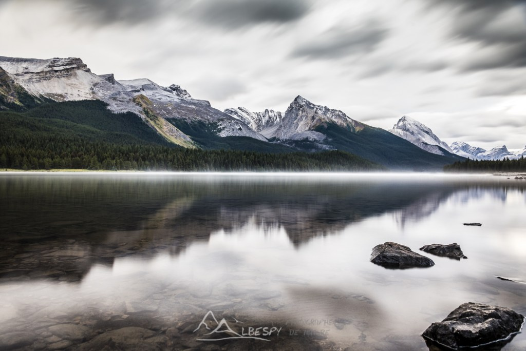 Maligne Lake (Parc National de Jasper - Alberta) n°0618