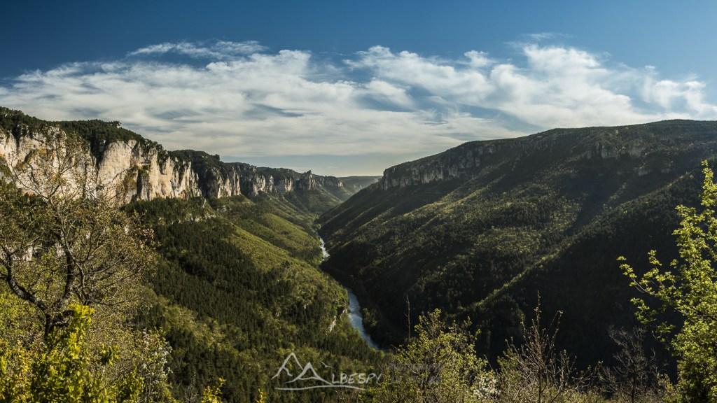 Symétrie du Tarn (Gorges du Tarn) n°0218
