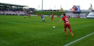 FC Fredericia - Fremad Amager, 12. maj 2018. Foto: Andreas Dyhrberg Andreassen, Fredericia AVISEN.