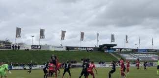 FC Fredericia - Silkeborg IF. 30. September 2018. Foto: Andreas Dyhrberg Andreassen, Fredericia AVISEN.
