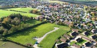 Gelsted fra oven. Foto: Middelfart Kommune