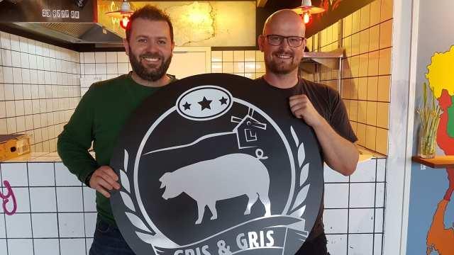 Kasper Østergaard og Martin Andersen åbner