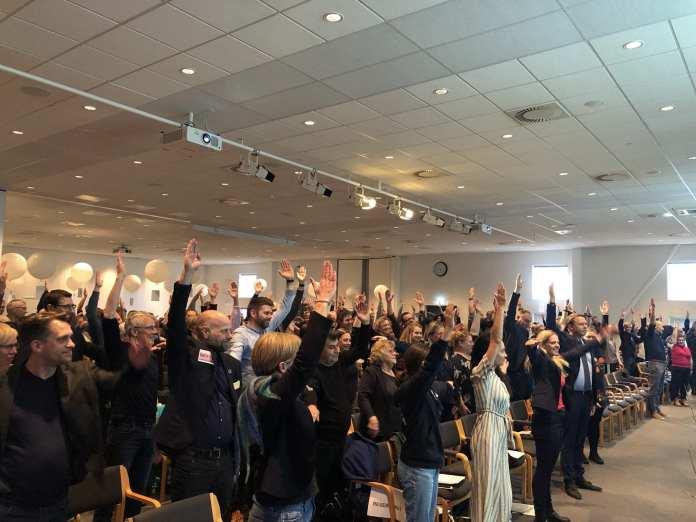 Skolekonference, MesseC 7.marts 2019. Foto: Andreas Dyhrberg Andreassen, Fredericia AVISEN.