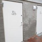 Offentlige toiletter Borchs Gård