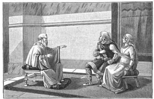 Clovis apprend le catéchisme. Ernest Lavisse (Armand Colin)