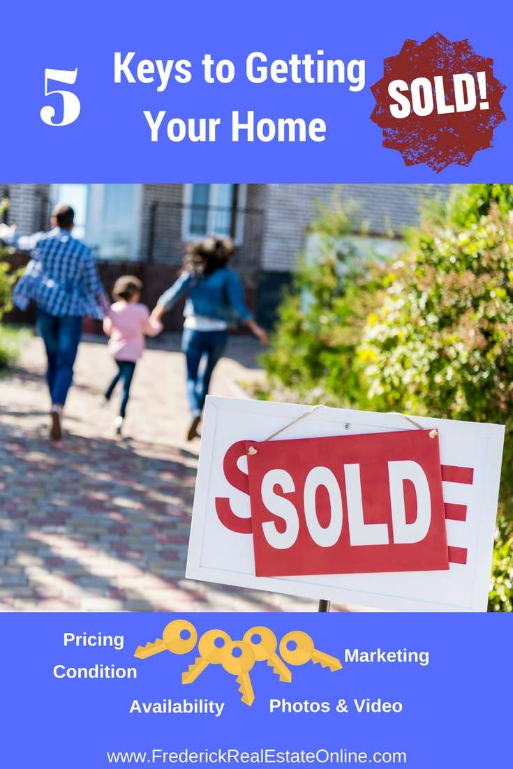 five keys to getting your home sold