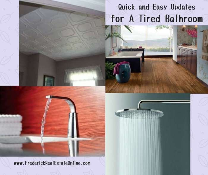 Easy Updates For A Tired Bath - Quick bathroom updates