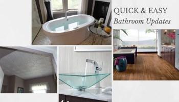Easy Updates for A Tired BathBathroom Design Trends. Easy Bathroom Updates. Home Design Ideas