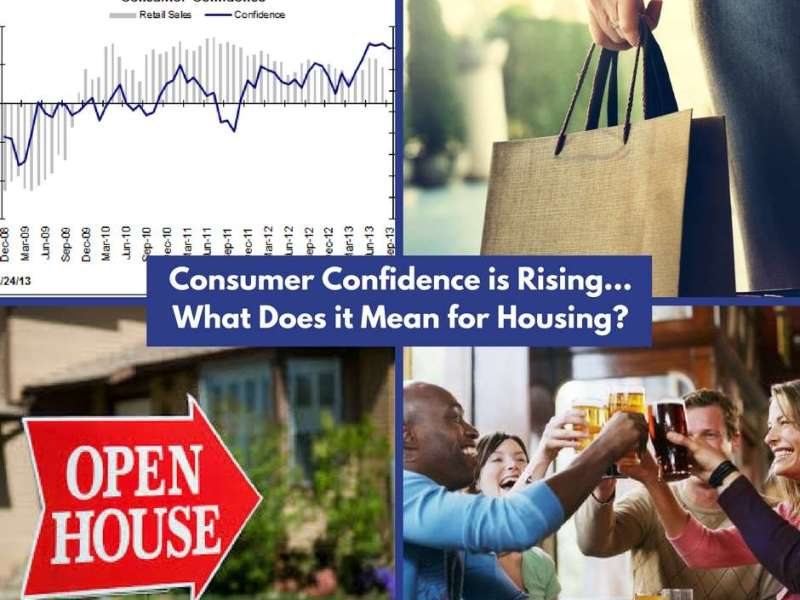consumer confidence is rising what it means for housing