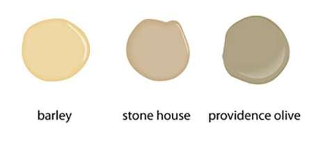 Rich Neutral Hues Can Include Many Tinted Soft Colors Like These Benjamen Moore