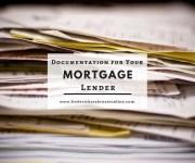 Documentation for Your Frederick MD Mortgage Lender