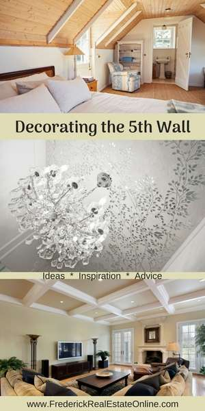decorating the fifth wall - the ceiling