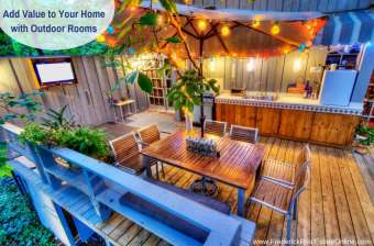 Outdoor Rooms Add Living Space – How to Get it Right
