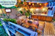 Outdoor Rooms add Living Space and Value to Your Home
