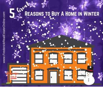 Five Reasons to Buy A Home in Winter