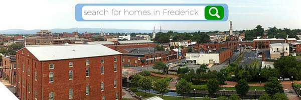 search for homes in Frederick