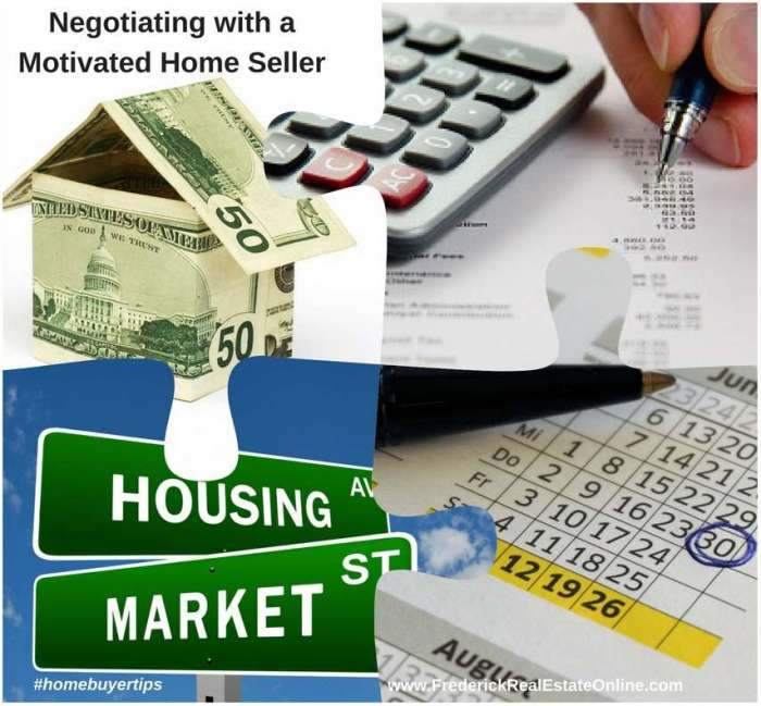 Negotiating with A Motivated Home Seller