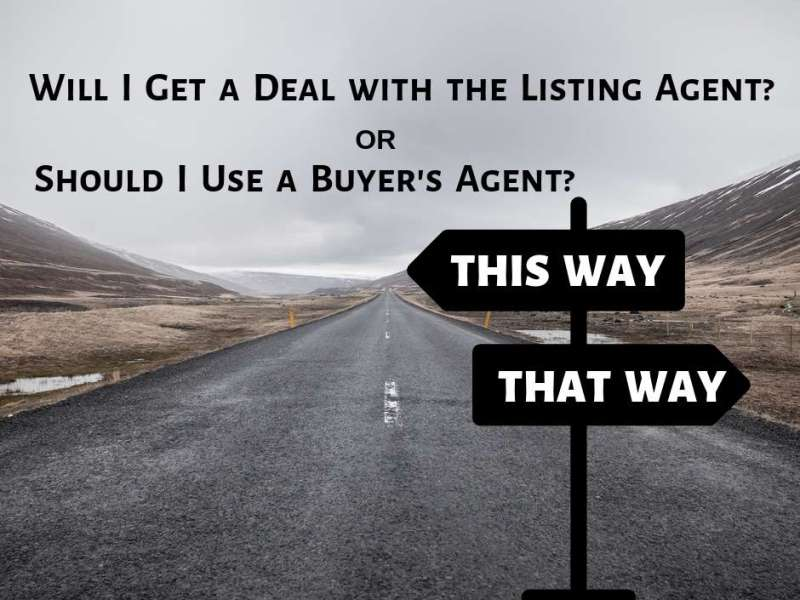 Will i get a deal if i call the listing agent?