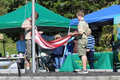 Boy Scouts Flag Ceremony