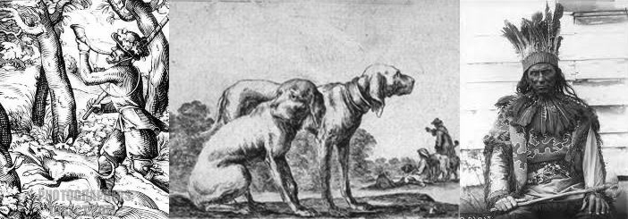 Indian Dogs and Hunter