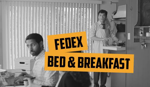 "Blog 18vs80 Fedex ""Bed & Breakfast"""