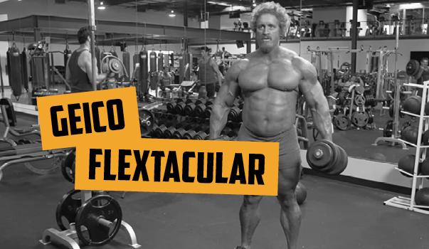 Geico's Flextacular Commercial, Bro