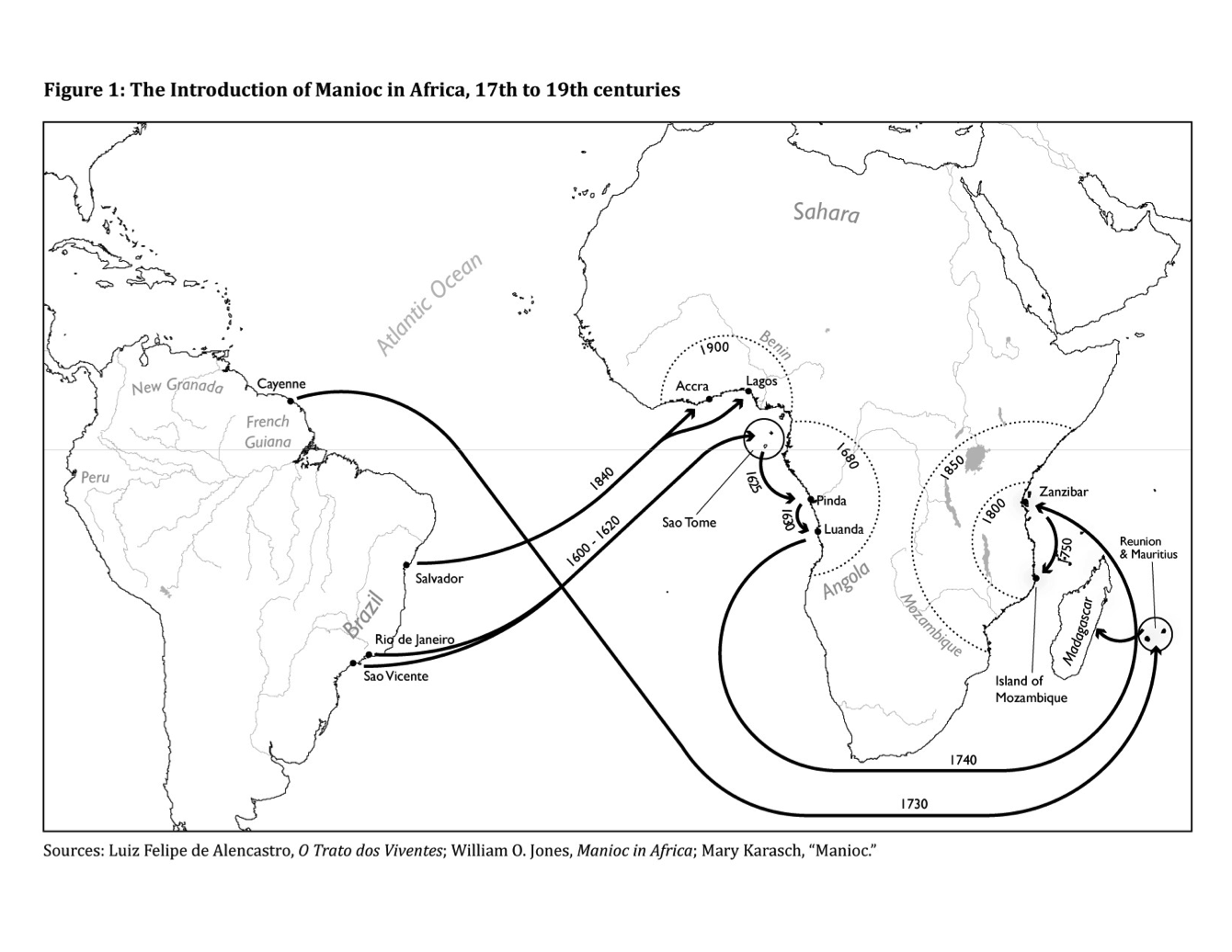 The South Atlantic Columbian Exchange
