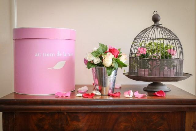 au nom de la rose bapteme decoration florale mariage photographe